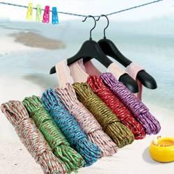 Sznur pleciony na pranie 10m - linka nylonowa - sznurek do bielizny