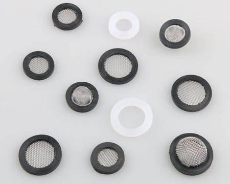 Uszczelka silikonowa płaska 19mm - 5- szt - do węża pralki - prysznica - kranu