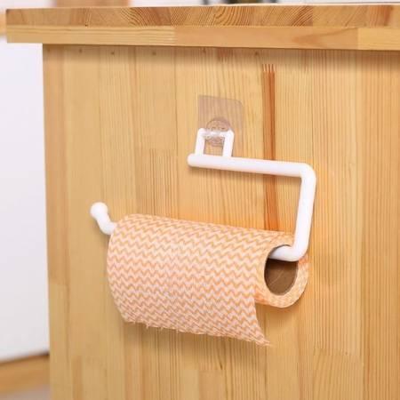 Wieszak na ręcznik - szary duży - uchwyt na papier kuchenny